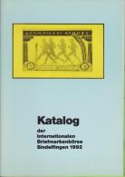 Sindelfingen Exhibition Catalog 1992  Perfekt State - Mostre Filateliche