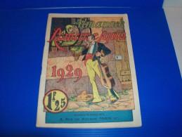 Almanach Romanesque. 1929. Avec Une Double Page Illustrée Par René GIFFEY. 1ère De Couverture Couleurs. - Agendas & Calendarios
