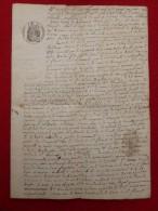 BRAHIC ARCHIVES PROPRIETES SAINT FLORENT SUR AUZONNET 1859 - Historische Documenten