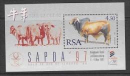 """South Africa 1997 Sapda """"Afrikander"""" M/s ** Mnh (27091) - Blokken & Velletjes"""