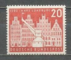 1956 GERMANY LUNEBURG MICHEL: 230 MNH ** - [7] Federal Republic