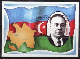 AZERBAIJAN 1994 President Aliev Block MNH / ** - Azerbaïjan