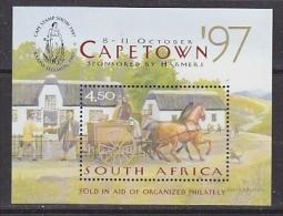 South Africa 1997 Capetown M/s ** Mnh (27091AB) - Blocs-feuillets