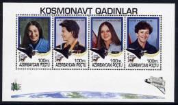 AZERBAIJAN 1995 Women Astronauts Blocks  MNH / **. - Azerbaïjan