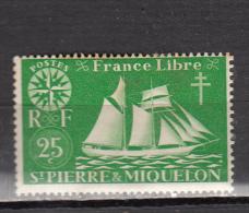 ST PIERRE ET  MIQUELON * YT N° 298 - Unused Stamps