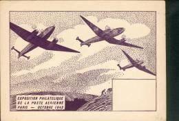 EXPOSITION  PHILATELIQUE De La POSTE  AERIENNE 1943 - 1939-1945: 2. Weltkrieg
