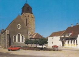 L'église Et La Poste De Saint-Clément (89)  - - Saint Clement