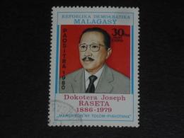 MADAGASCAR YT 639 OBLITERE - DOCTEUR JOSEPH RASETA