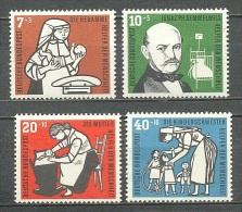 1956 GERMANY WELFARE MICHEL: 243-246 MNH ** / MH * - [7] Federal Republic