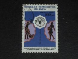 MADAGASCAR YT 657 OBLITERE - JOURNEE MONDIALE ALIMENTATION