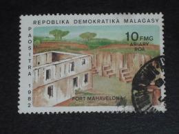 MADAGASCAR YT 683 OBLITERE - FORT MAHAVELONA