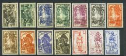 VEND BEAUX TIMBRES DE GUINEE FRANCAISE N° 158 - 171 , XX - X !!!! - Guinée Française (1892-1944)