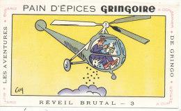 BU 1397 /  BUVARD   PAIN D'EPICES GRINGOIRE  ( Format 17,5cm X 10,2 Cm ) - Peperkoeken