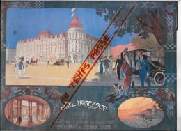 06 - Alpes Maritimes - Nice - Hotel Negresco -  petite affiche - illustrateur V.H.Lorant