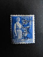 FRANCE N° 365 A.M.A 143 Indice 2 Type Paix Perforé Perforés Perfins Perfin Tres Bien - France