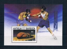 Antigua Und Barbuda1987 Olympia Block 125 ** - Antigua Und Barbuda (1981-...)