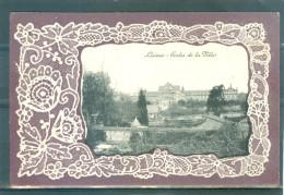 Relief - Gaufrée - Embossed - Prage - écoles - Bords En Dentelle Gaufrée  - TBE - Lisieux