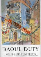 06 - Alpes Maritimes - Nice - Ville -  petite affiche - illustrateur Raoul dufy