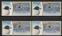 ISRAEL - TIMBRES DE DISTRIBUTEURS (frama)  N° 57   (2010)  Oiseau - Goéland - Franking Labels