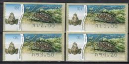 ISRAEL - TIMBRES DE DISTRIBUTEURS (frama)  N° 74   (2012)  Poisson - Franking Labels