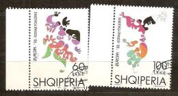 Cept 1998 Albanie Albania Yvertn° 2412-13 (°) Used - 1998
