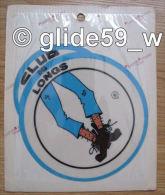 Autocollant CLUB DES LONGS (Plastic Screen - Italy) (an. 70) - Autocollants