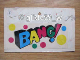 """Autocollant """"BANG !"""" (Plastic Screen - Italy) (an. 70) - Stickers"""