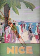 06 - Alpes Maritimes - Nice - petite affiche - illustrateur Lorenzi