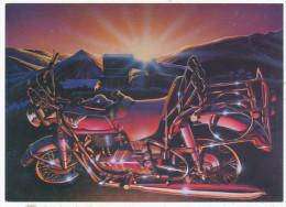 Sunshine On Harley, Editions Nugeron Postcard - Motorbikes