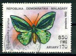 MADAGASCAR MICHEL 1372� BUTTERFLIES