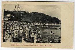 MADAGASCAR  DIEGO SUARES  LA FETE NATIONALE A ANTSIRANE1908  LES REGATES  CACHET F M  VAGUEMESTRE - Madagaskar