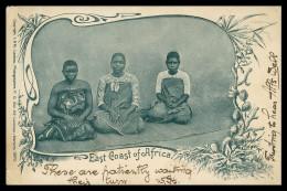AFRICA - MOÇAMBIQUE -  COSTUMES - East Coast Of Africa  ( Ed. J.&M. Lazarus )  Carte Postale - Mozambique