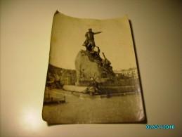 RUSSIA KRONSTADT  ST. PETERSBURG REGION LARGE PHOTO OF ADMIRAL MAKAROV MONUMENT