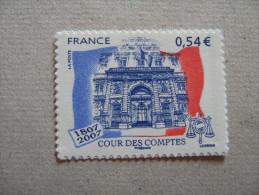 FRANCE    2007   NO YT 117 * *   COUR  DES  COMPTES - Adhésifs (autocollants)