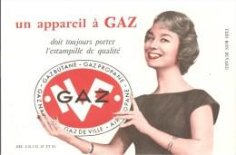 Buvard GAZ Un Appareil à GAZ Doit Toujours Porter L'estampille De Qualité. GAZ BUTANE GAZ PROPANE - Electricité & Gaz