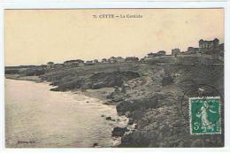 9 CETTE  LA CORNICHE - Sete (Cette)