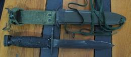 Très Rare Baïonnette US M7 COLT 1er Contrat US Non Allemand 30 000 Exemplaires - Armes Blanches