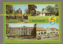 Deutschland (DDR-Zeit) - AK - Bad Doberan / Münster, Sanatorium, Markt, Am Kamp - Bad Doberan