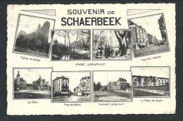 0. CPA  Fantaisie - Multivues  - Souvenir De SCHAERBEEK - SCHAARBEEK   // - Schaarbeek - Schaerbeek