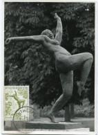 BELGIQUE CARTE MAXIMUM DU N°969   1F.20   3e BIENNALE DE SCULPTURE A ANVERS - Maximum Cards
