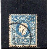 AUTRICHE 1858-9 TYPE I° - 1850-1918 Empire