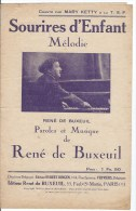 Sourire D'enfant - Partitions Musicales Anciennes