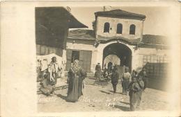 MONASTIR CARTE PHOTO UN COIN DE VILLE  1917 VOIR LES DEUX SCANS - Serbia
