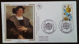 FDC 1992 - YT N°2755 - EUROPA - STRASBOURG - 1990-1999