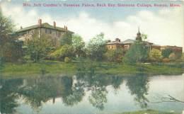 BOSTON - Mrs. Jack Gardner's Venetian Palace, Back Bay, Simmons College - Boston