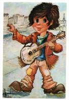 CPSM - G.DENIS - LES ENFANTS DE LA BOHEME - L'IDOLE DES JEUNES - Colorisée - Toilée - Ann 70 - - Unclassified