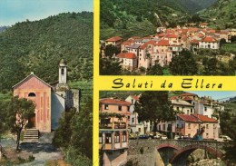 Ellera Ligure (Savona) - Chiesa Di S. Maria Maddalena - Il Vecchio Centro - Piazza Cairoli - Italia