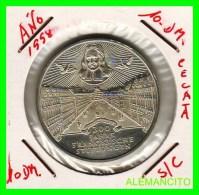 ALEMANIA  - BRD  - MONEDA DE 10 DM  PLATA  S/C  AÑO 1998-A - [10] Conmemorativas