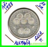 ALEMANIA  - BRD  - MONEDA DE 10 DM  PLATA  S/C  AÑO 1998-F - [10] Conmemorativas