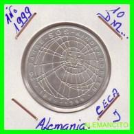 ALEMANIA  - BRD  - MONEDA DE 10 DM  PLATA  S/C  AÑO 1999-J - [10] Conmemorativas